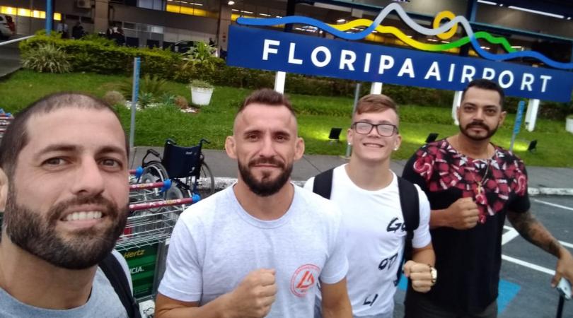 Tudo pronto: Caio Felipe Ramos embarca para o Rio de Janeiro