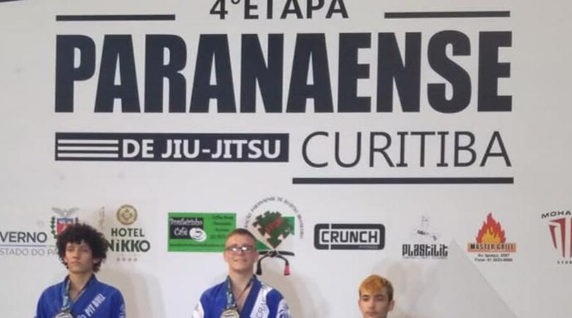 Caio Felipe Ramos é campeão da 4ª etapa do Campeonato Paranaense de Jiu-jitsu
