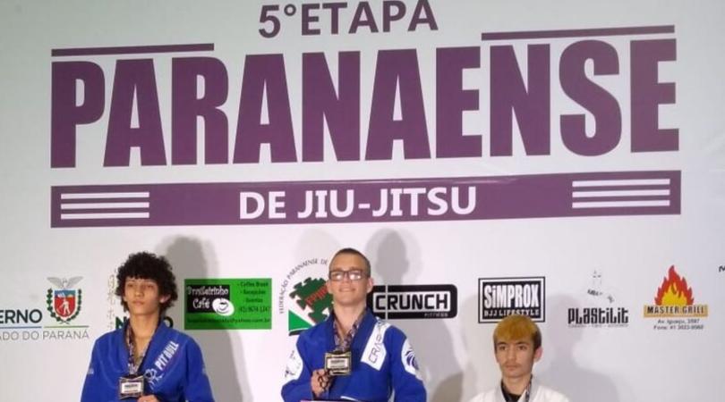 Caio Felipe Ramos conquista 5ª etapa do Campeonato Paranaense de Jiu-Jitsu